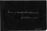 """Views of Montevallo Alabama, Christmas, 1915,"" compiled by L. J. K."