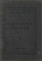 Eighteenth Annual Catalogue of Macalester College and Academy 1902-1903, St. Paul, Minnesota