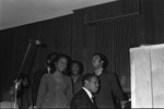 Gladys Knight and the Pips performing at Victory Baptist Church, Los Angeles, 1970