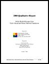 Thumbnail for 2008 qualitative report : public health messages from Utah's racial and ethnic minority populations (October 7, 2008)
