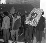 Thousands protest Black Panther Raid, City Hall