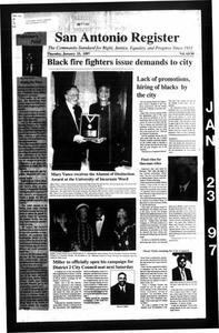 San Antonio Register (San Antonio, Tex.), Vol. 65, No. 30, Ed. 1 Thursday, January 23, 1997