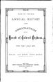 Annual report of the Association for the Benefit of Colored Orphans