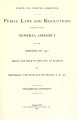 Public laws and resolutions passed by the General Assembly at its session of ...[1927] Laws, etc.; Public laws and resolutions passed by the General Assembly at its extra session of...