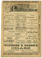 """Haverly's Mastadon Minstrels"" and ""The Witch"" theater program, Bijou Opera House, Minneapolis, Minnesota"