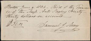 Letter from Deborah Weston, Boston, [Mass.], to Ann Bates Weston, June 8th, 1836