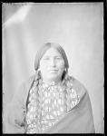 Front view of Roan Chief's wife, U. S. Indian School 1904