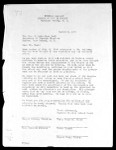 Tugbake Mission School Board, letter, 1960, to Bush