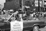Judge Maxine Thomas in Easter Parade, Los Angeles, 1986