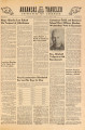 Arkansas Traveler, May 7, 1946; Negro Queries Law School on Prospect of Admittance; Arkansas traveler (Fayetteville, Ark.); Traveler