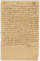 Letter from John Dabney Terrell in Pikesville, Alabama, to Thomas Ringold in Linden, Alabama.