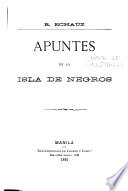 Apuntes de la isla de Negros