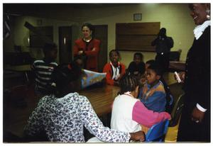 Women and Children During Lackland Air Force Base Field Trip San Antonio Chapter of Links Records