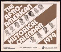Thumbnail for Calendar. The Afro-American Historical Calendar
