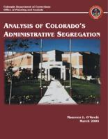 Analysis of Colorado's administrative segregation