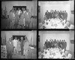 Set of negatives by Clinton Wright including Negro history play at Zion, Reverend Walker, Miss Viola Walton, Kappas at Nellis, and Madison Dancers at Kit Carson, 1964