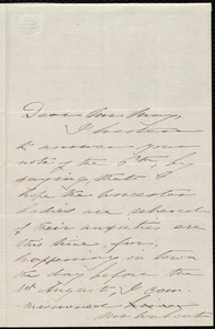 Letter from Deborah Weston, Weymouth, [Mass.], to Samuel May, August 7th / [18]51