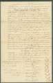 Emancipation bond for Ernest, who was freed by an act of the General Assembly of Alabama on December 2, 1824.