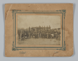 Photograph of integrated American Expeditionary Forces in France