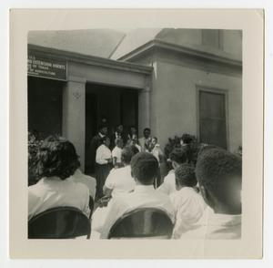 Choir at the Negro Extension Agency