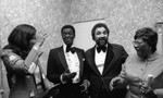 Testimonial to pioneer black historical achievement dinner at the Beverly Hilton, Los Angeles, 1981