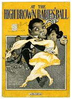 At the high brown babies' ball / words and music by Benny Davis, Sid Erdman and Ernie Erdman