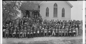 Most Worshipful United Grand Lodge, F. and A. M. [Free and Accepted Masons], of the State of Maryland... Fairmont Heights, August 17th and 18th 1941 [cellulose acetate photonegative, banquet camera format]