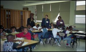 Women with Gates Elementary Students San Antonio Chapter of Links Records