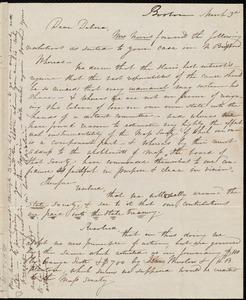 Letter from Caroline Weston, Boston, [Mass.], to Deborah Weston, March 3rd, [1839?]