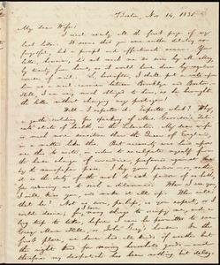 Letter from William Lloyd Garrison, Boston, [Mass.], to Helen Eliza Garrison, Nov. 14, 1835