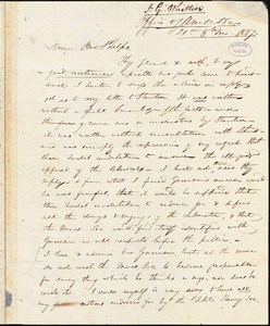 Letter from John Greenleaf Whittier, [New York], to Amos Augustus Phelps, 1837 [August] 21