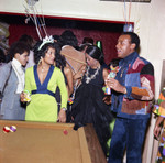 Iris and Gwen Gordy at Berry Gordy's New Year's Eve party, Los Angeles