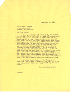 Letter from W. E. B. Du Bois to Muriel Rogers