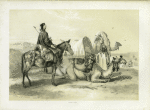 Kafileh with Camel bearing the Hodejh