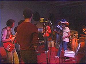 "Street Dancers Bash rehearsing the song ""Runnin"""