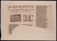 The biter bitten, or, The broker well-fitted by the joyner, and the joyners wife : This crafty knave, thought to inslave, in sending for his wife, the gold they keep, and he may weep, to mend his wicked life : to the tune of, The two English travellers.
