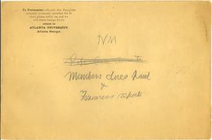Niagara Movement Members dues paid and Treasuer's reports