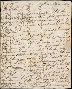 Letter from William Smeal, Glasgow, [Scotland], to William Lloyd Garrison, 1840 [July] 29th