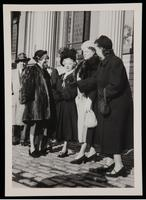 Guests at the opening of the James Weldon Johnson Memorial Collection at Yale University