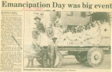 African-Americans-Emancipation Day was big event