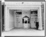 """[Box office of """"Grand"""" 5-cent vaudeville and motion picture show, Niagara Falls, N.Y.]"""