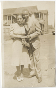 Photograph of a Woman and Man