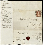 Envelopes to] Miss Deborah Weston [manuscript