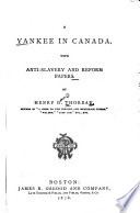 A Yankee in Canada : with anti-slavery and reform papers