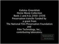 Kaliska-Greenblatt home movie collection, Reels 2-4 and 8 (hm-kalis_0057)