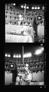 Freedmens Hospital Operating Room ca. 1950 [from enclosure] [black-and-white cellulose acetate photonegative]