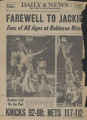 Martin Stone's Jackie Robinson File : Newspaper clippings