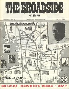 The Broadside. Vol. 3, no. 11 (special Newport issue)