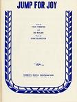 Jump for Joy [sheet music], 1941