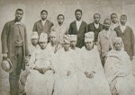Free and converted slaves in Taylor's home, Senegal